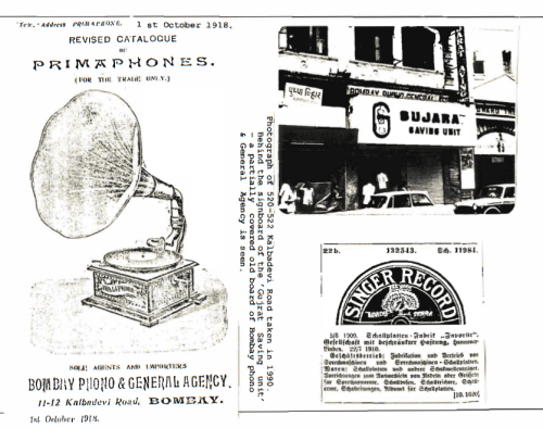Advertisement, Bombay Phono & General Agency