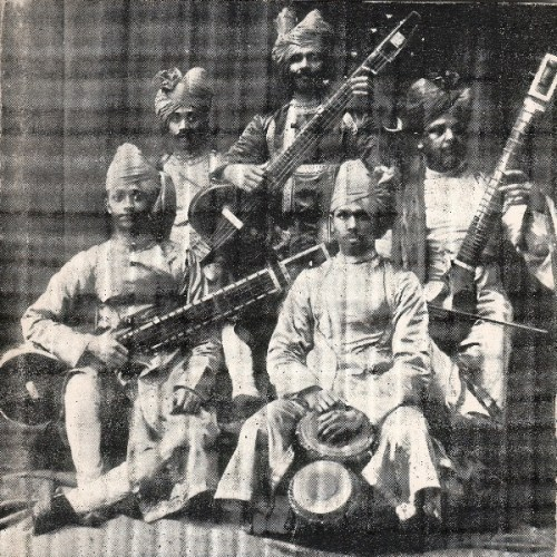 Royal Musicians, Inayat Khan - Top Center