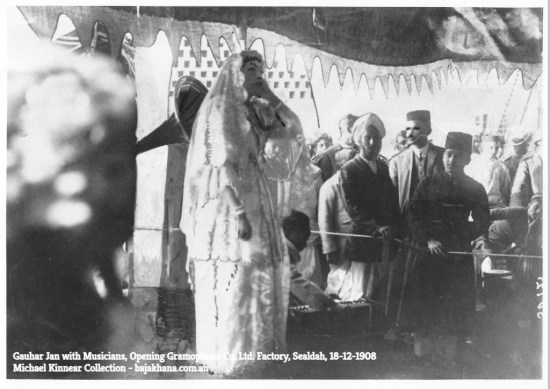 Gauhar Jan, Recital, Sealdah, 18-12-1908