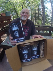 Advanced copies of Almost Human have arrived!
