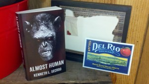 Book signing at Del Rio Vineyards and Winery, Gold HIll, Oregon