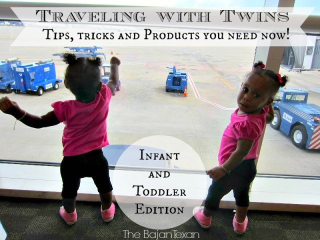 Traveling with Twins: Flying Tips with Infants and Toddlers - Traveling with twins can be challenging. Here are some tips to make your trip hassle free!
