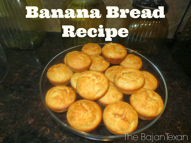 Moist Banana Bread Recipe - Bake some moist and yummy banana bread for the whole family anytime with this quick recipe! Makes 18 muffins!