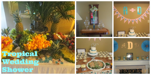 A Tropical DIY Wedding Shower