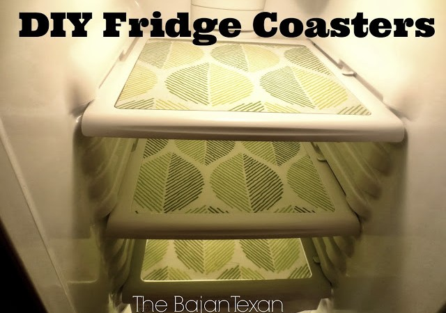 DIY Fridge Coasters