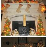 DIY Holiday Mantel (Holiday Series 4)