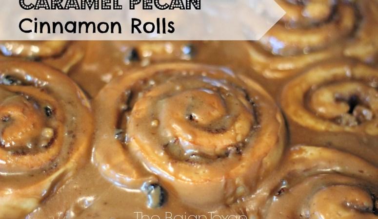 Caramel Pecan Cinnamon Roll Recipe
