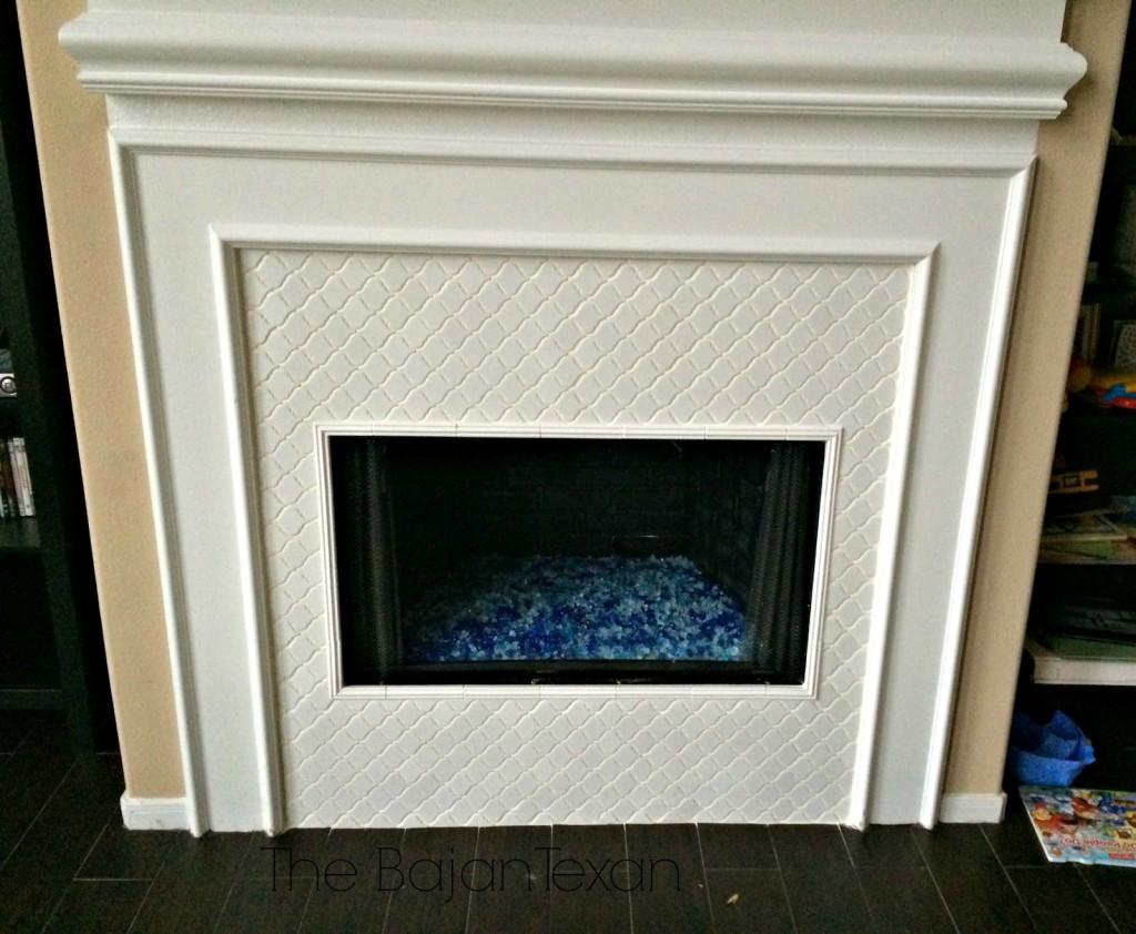 amazing fire glass fireplace makeover u2013 the bajan texan