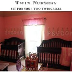 Twin Nursery Fit For Any Twincess