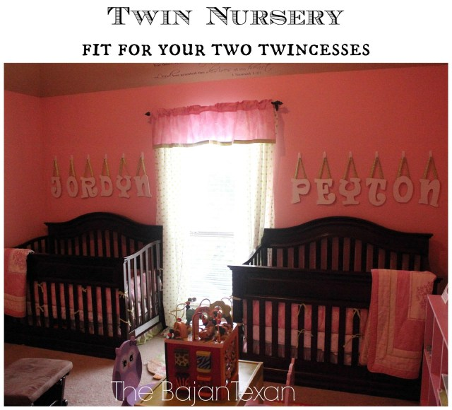 Twin Nursery Fit For Any Twincess - Check out and get some inspiration from this home tour that showcases my twincesses' nursery room!