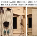 DIY Pegboard Organizer ($10 Home Depot YouTube Challenge)
