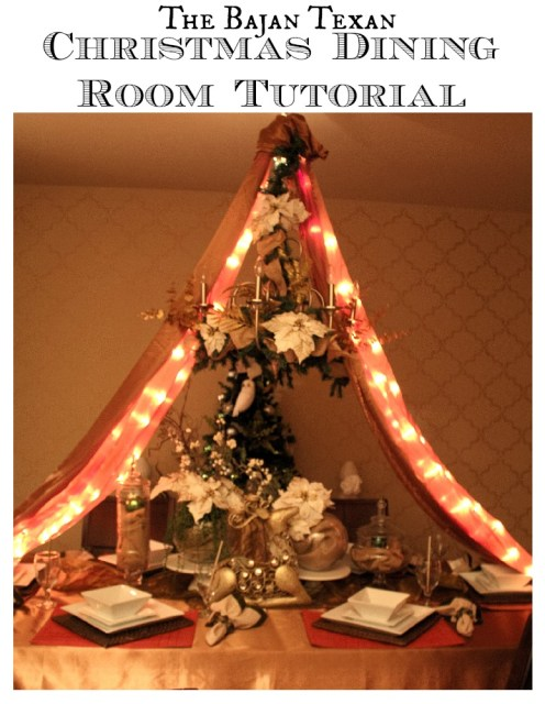 Holiday Dining Room Decor: With Video Tutorial - Check out how you can decorate your dining area for Christmas! Great tips you'll love!
