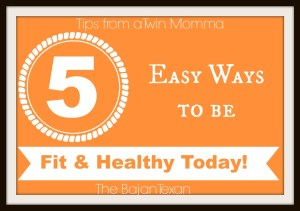 how to be fit and healthy