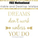 Free Motivational Printable!
