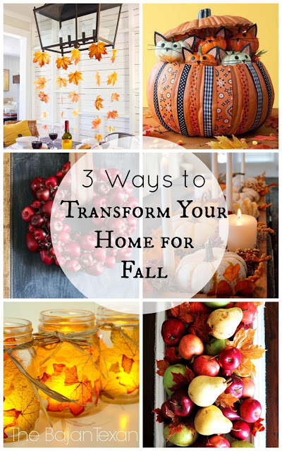 Transform Your Home fall decor ideas diy: 3 ways to transform your home for fall – the