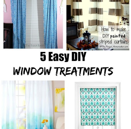 5 Easy DIY Window Treatments