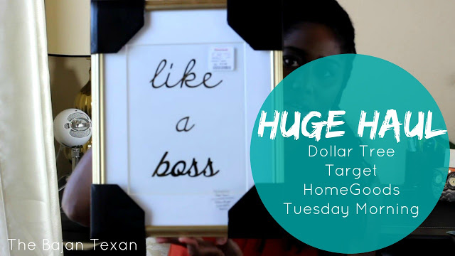 Home Decor Shopping Haul: Dollar Tree, Target, HomeGoods, Tuesday Morning