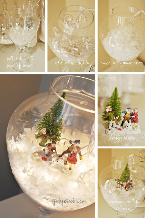 snow globe terranium