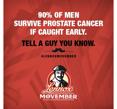 Prostate Cancer: Help the Men in Your Life with #LennoxMovember #ad