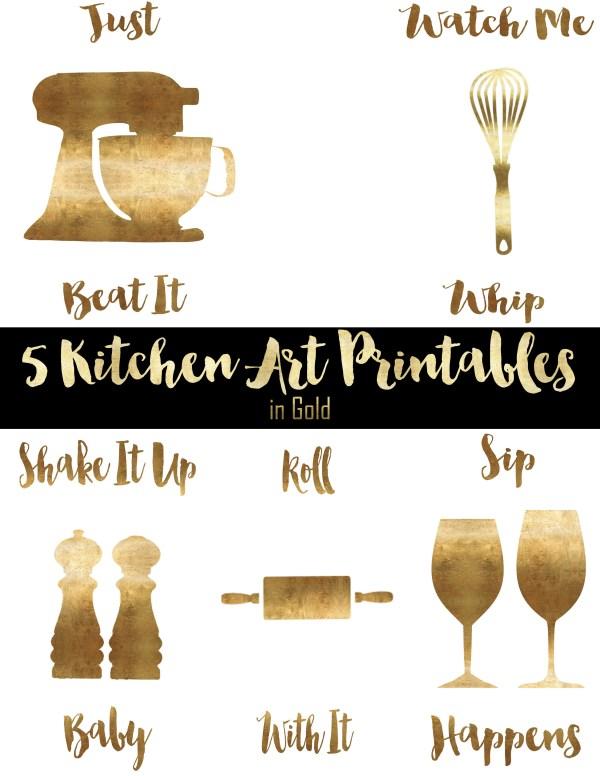 Kitchen Art Printables