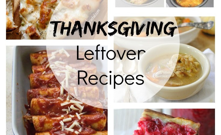 6 Thanksgiving Leftover Recipes