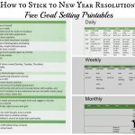 How to Stick to New Years Resolutions