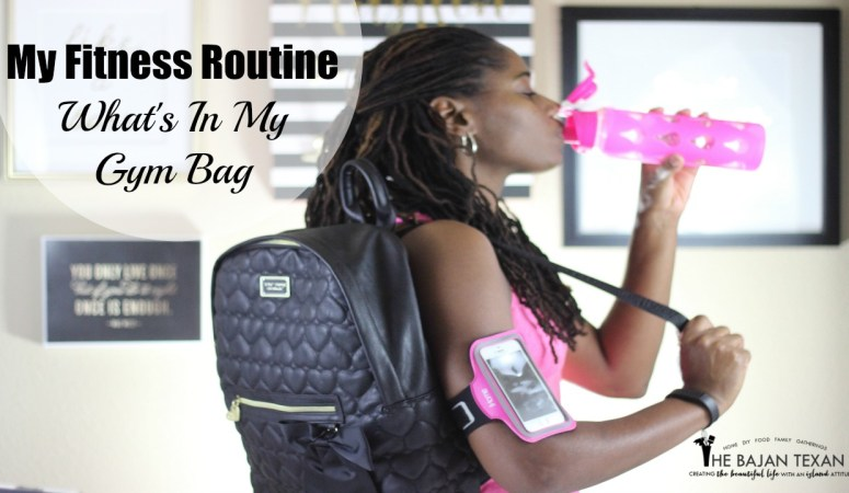 Twin Mom Fitness Routine and What's In My Gym Bag