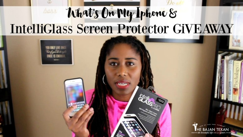 How to Protect Iphone With IntelliGlass: What's On My Iphone + Giveaway - Learn how to protect your Iphone with IntelliGLASS Hardened Glass Screen Protector