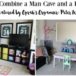 Man Cave Playroom Organization (Featured by Peter Walsh Oprah's Organizer)