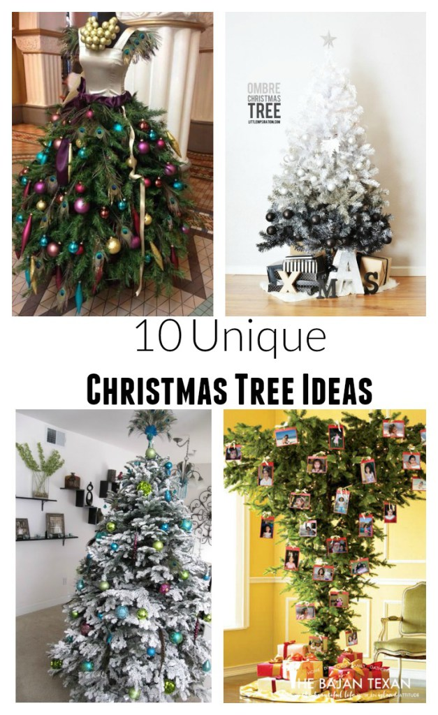 How to decorate your home for the holidays the bajan texan Creative christmas trees to make