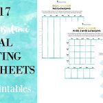Free Goal Planning Worksheets for the New Year