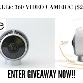 ALLie 360 Video Camera Giveaway ($299 value)