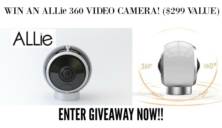 ALLie 360 Video Camera Giveaway ($299 value)