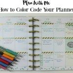 How to Color Code a Planner to Stay Organized #PilotYourLife #ad