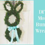 DIY Moss Bunny Wreath