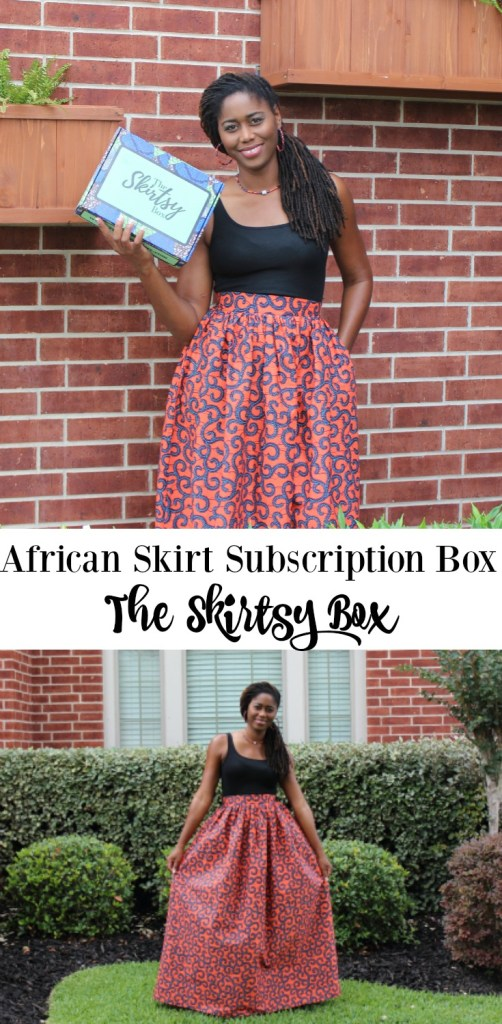 African skirt subscription box the skirtsy box