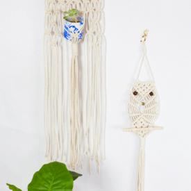 DIY Hanging Macrame Owl