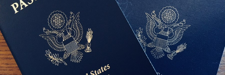 two United States of America passports