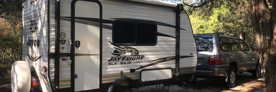 Jayco Travel Trailer and LandCruiser