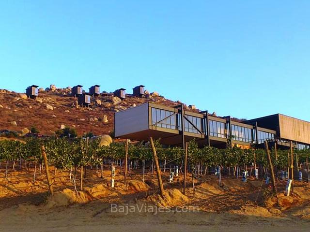 Hotel Encuentro Guadalupe, en el Valle de Guadalupe, Ruta del Vino.