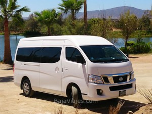 Renta de Vans, Transporte y tours al Valle de Guadalupe, Ensenada, Baja California