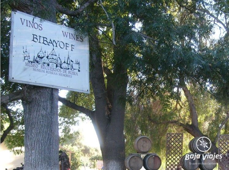 Vinicola Bibayoff y Museo Ruso en Valle de Guadalupe