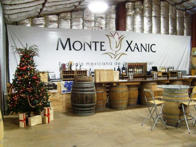 Sala de Degustación de Vinícola Monte Xanic, en 2006