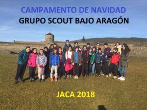 Grupo Scout. Campamento de Navidad