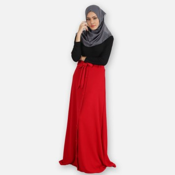 ras-2581-rd-skirt-red-bcb