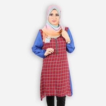 rmt-2854-bl-diaya-nursing-blouse-blue-cb9