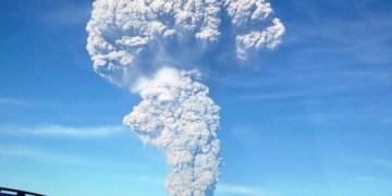 Se reporta tendencia a la baja en actividad del volcán Calbuco 9