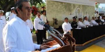 Participa Rogelio Ortega en la ceremonia por el 101 Aniversario de la Gesta Heroica de Veracruz 8