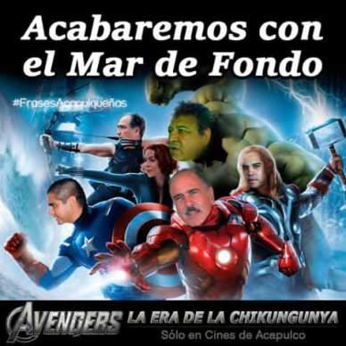 Los Avengers de Acapulco 4