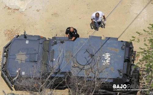 J Solano - Desalojan a policias de hoteles en Acapulco 1